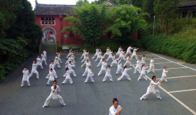 2017年武术班新生展示基本拳
